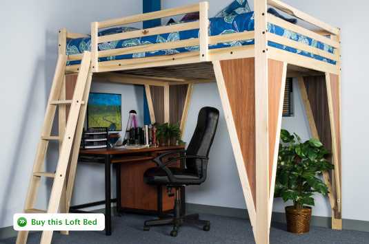 TimberNest Loft Beds Your Solution To An Overcrowded Room